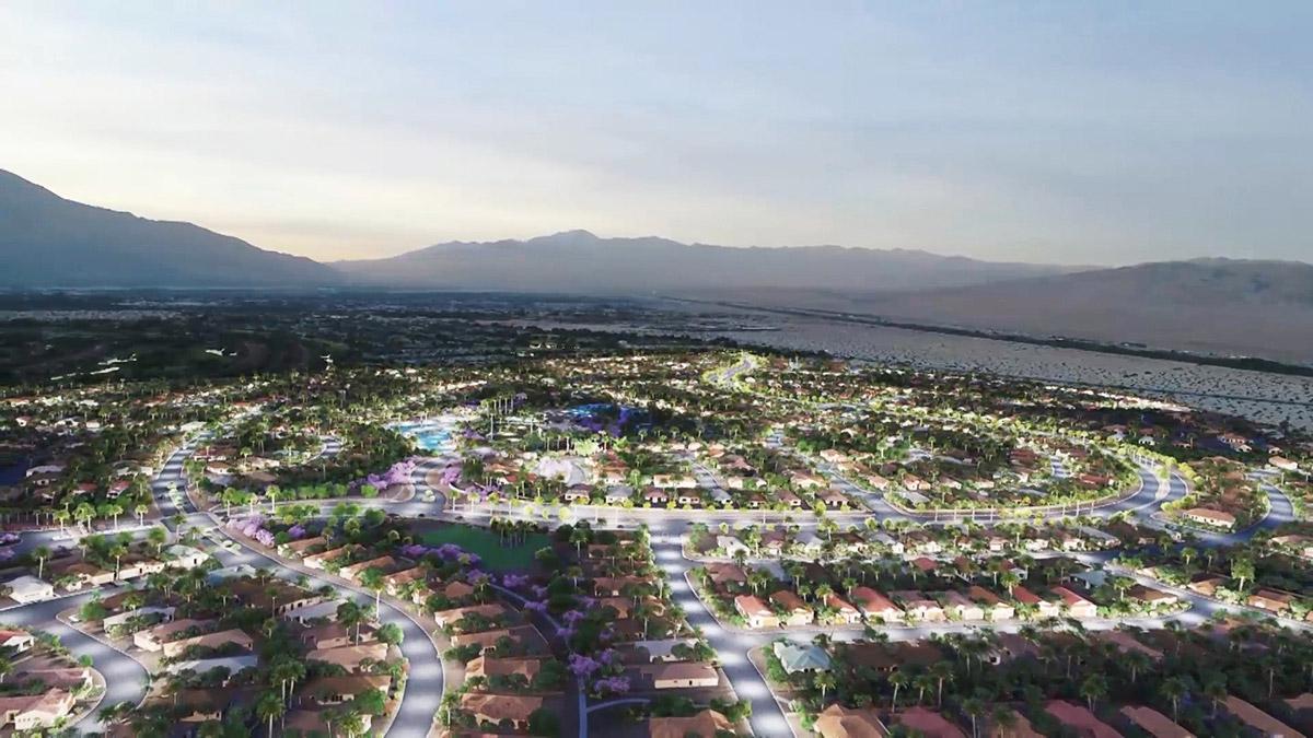 Rancho Mirage 3D rendering
