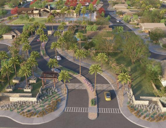 Aerial 3D rendering