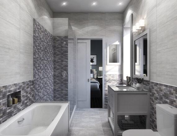 KA 200 bath 3d rendering