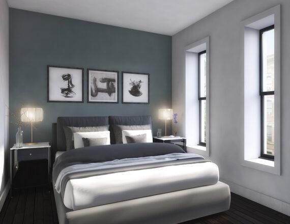 KA 200 bed 3d rendering