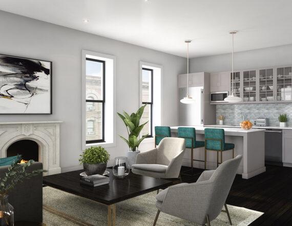 KA 200 kitchen 3d rendering