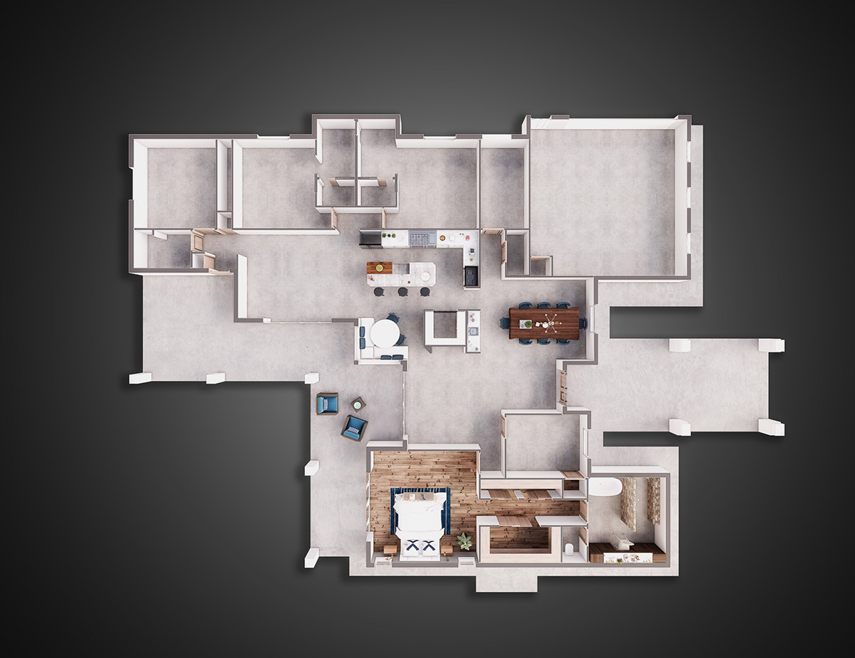 Hernandez Residence floor plans