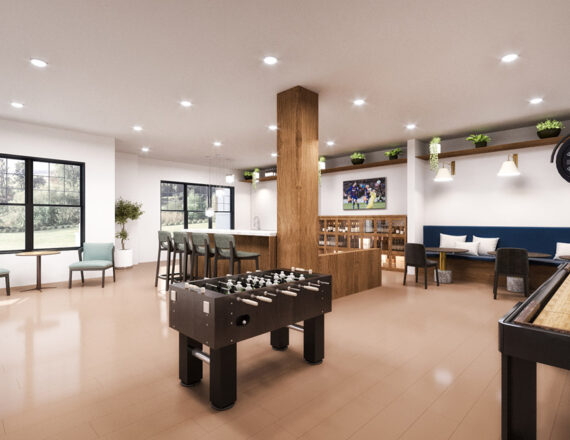 SA The Landon clubhouse 3d rendering