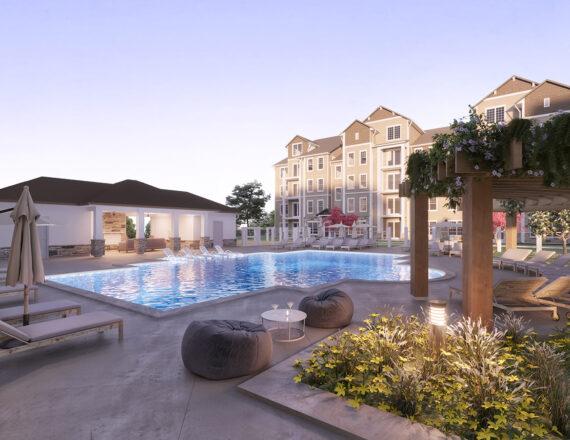 SA The Landon clubhouse pool