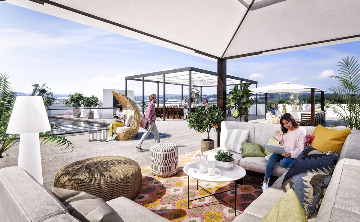SD Sai terrace floor