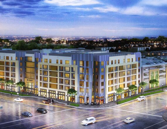 Student Housing 3d rendering
