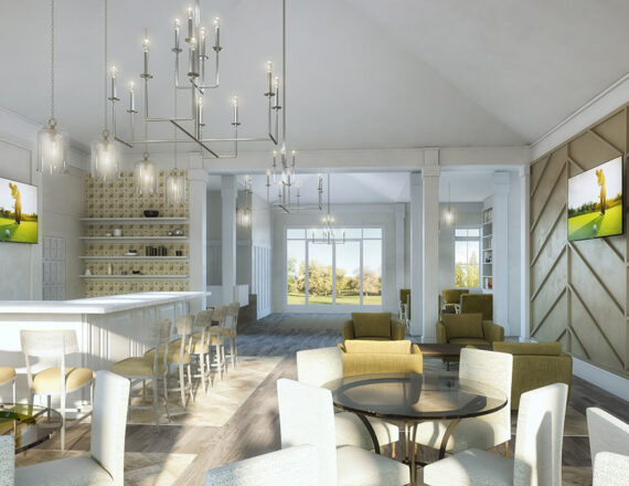 3D rendering clubhouse