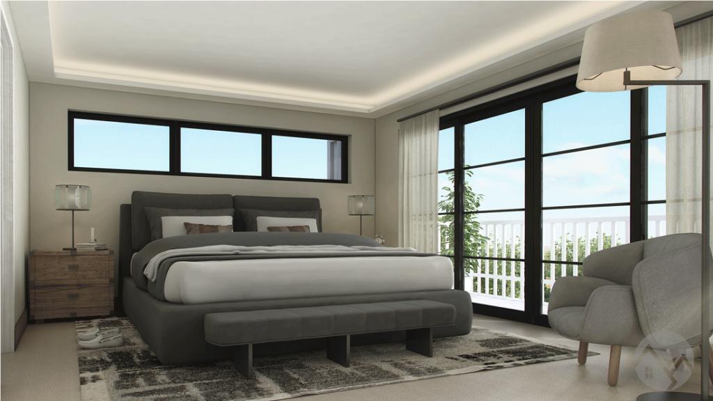 bedroom 3d visualiation