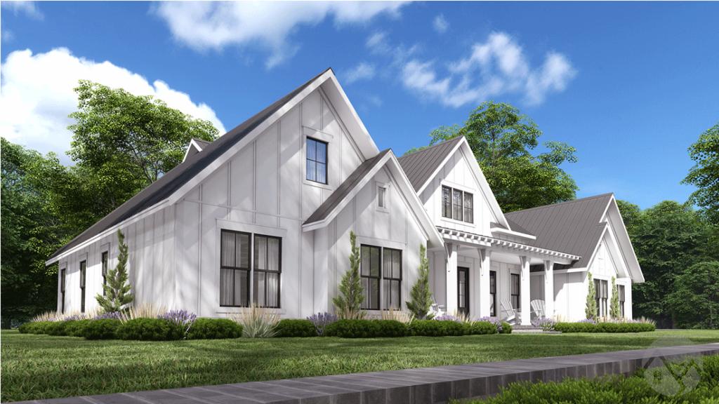 farmhouse style exterior