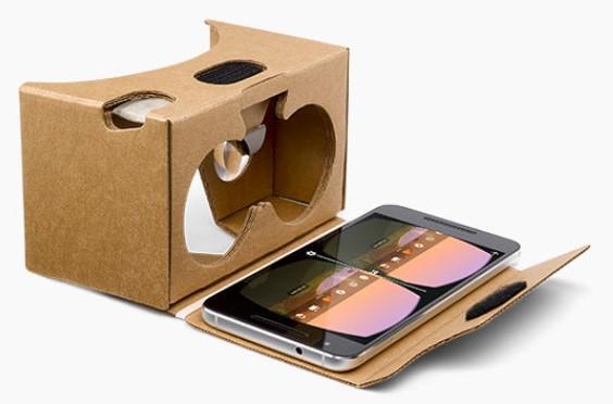 google cardboard virtual reality