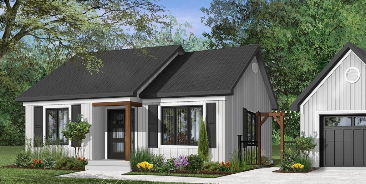 How to visualize your small family home through 3D rendering