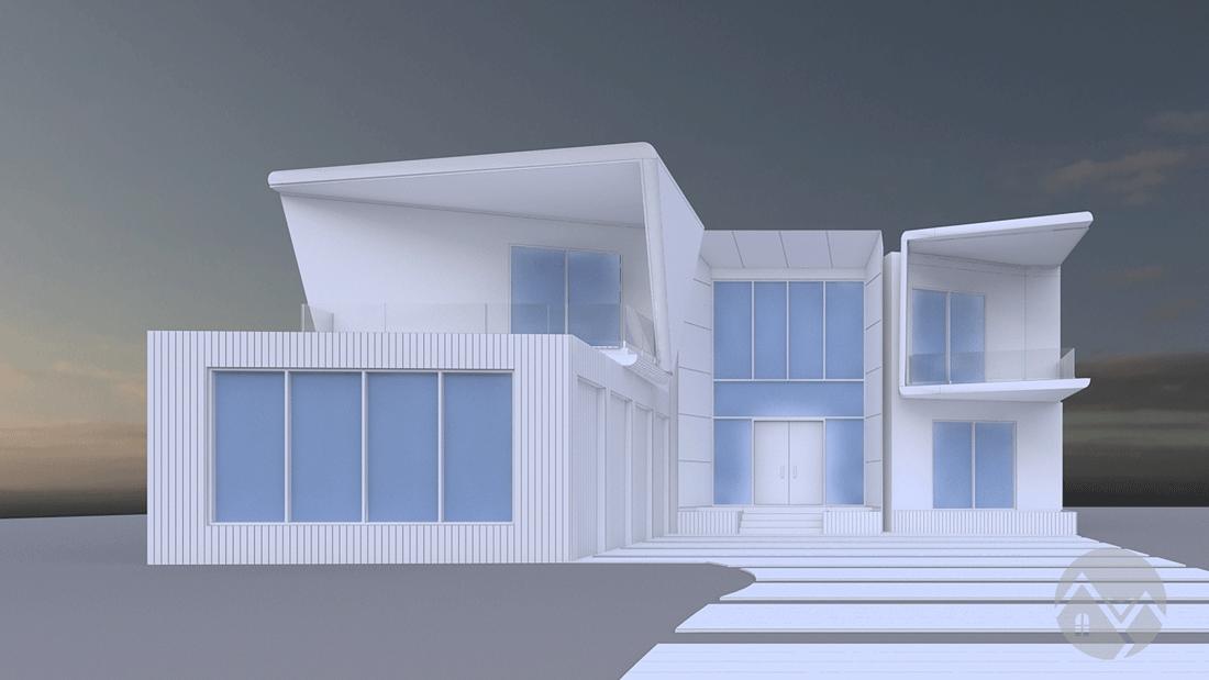 3d model white
