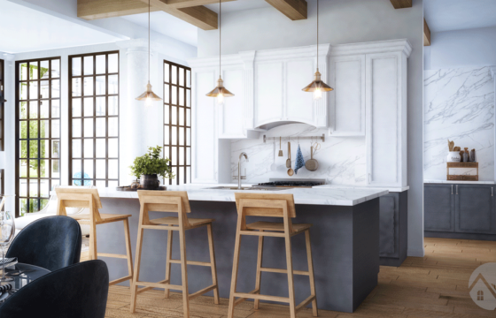 """The three """"more"""" of having an open concept kitchen"""