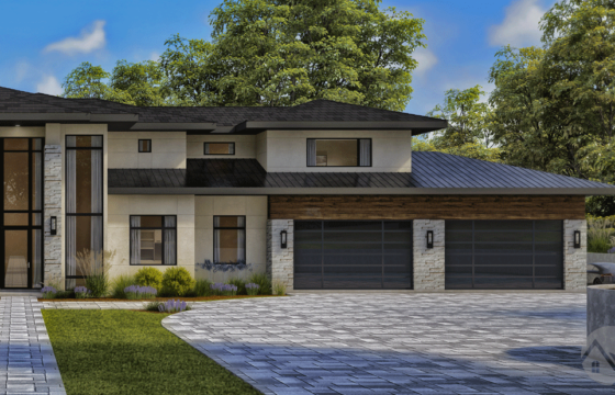 3D Architectural Exterior Rendering: how to set the perfect mood